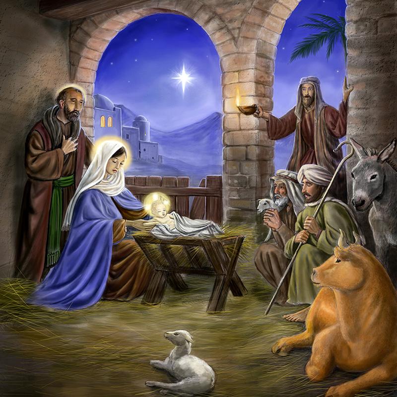 Znalezione obrazy dla zapytania boze narodzenie szopka